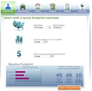 Oregon Carbon Calculator - know your carbon footprint
