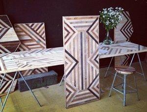 Designer Turns Salvaged Wood into Stylish Furniture