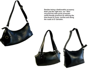 Recycled Tire Totes - oneworldprojects.com