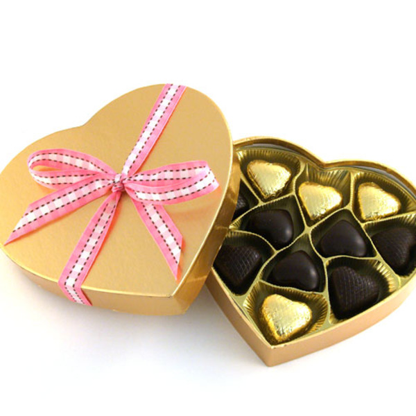 Vegan Valentine Chocolate Box - Organic & Fair Trade