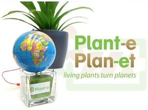 Plant-e - living plants generate electricity - nature has it all!