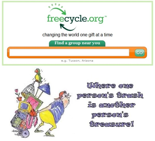 How Freecycle.org can help encourage reuse and reduce waste