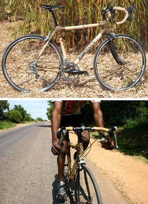 Zambikes Bamboo Bikes - sustainable and changing lives in Zambia