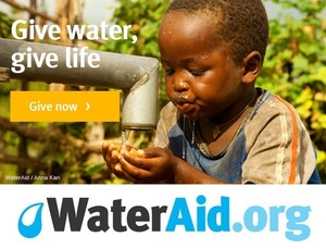 WaterAid America @WaterAidAmerica - bringing safe water and sanitation to the worlds poorest