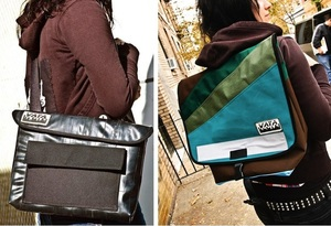 Vaya Bags @vayabags - bags & accessories made with reused & recycled materials