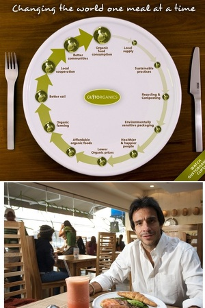 GustOrganics - NYC's first and only 4 Stars Certified Green Restaurant