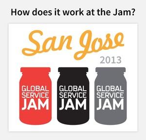 Current San Jose Global Service Jam 2013 Schedule