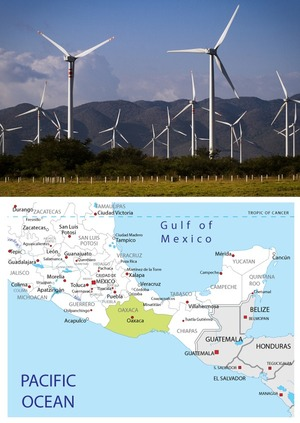 Mexico's wind power - 140% increase in one year