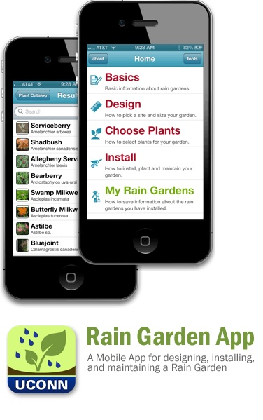 Rain Garden App - helps you properly install a rain garden