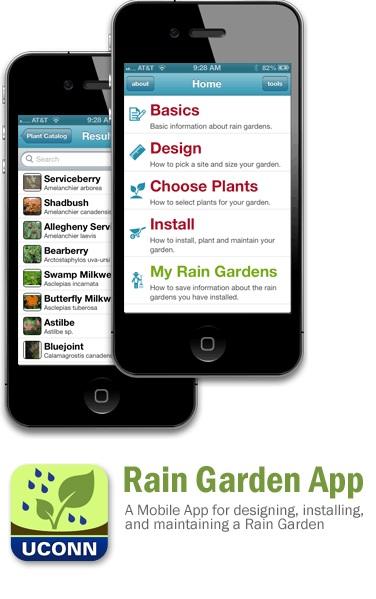 Rain Garden App - helps you properly install a rain garden
