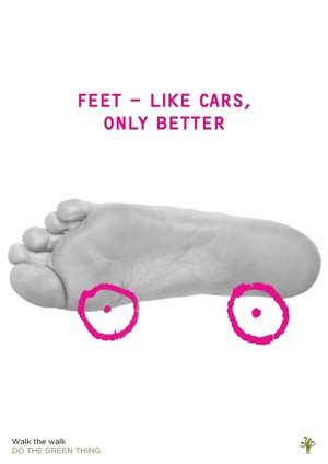 'Feet like cars' by Marina Willer (Poster 2/23)