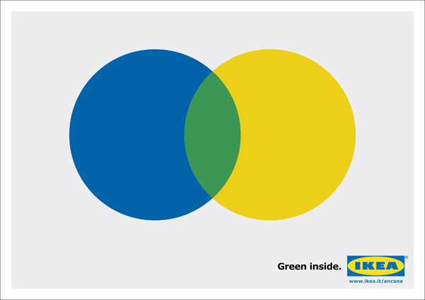 IKEA Green Poster Campaign by @AUGEHQ