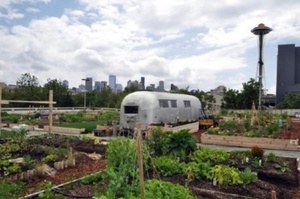 Nation's first completely public community garden!