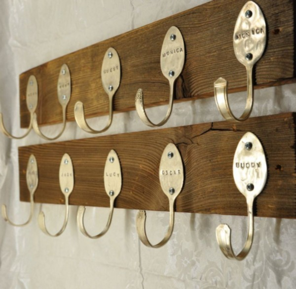 Funky wall hooks