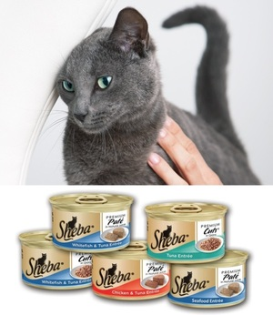 Sheba® Entrées For Cats - Responsibly-Sourced Fish Products