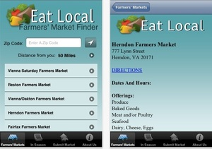 Eat Local app by @NRDC - find local food on a click